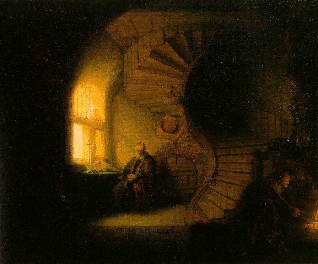 Rembrandt's Image of the Place of Imagination – [Post: Imagine]