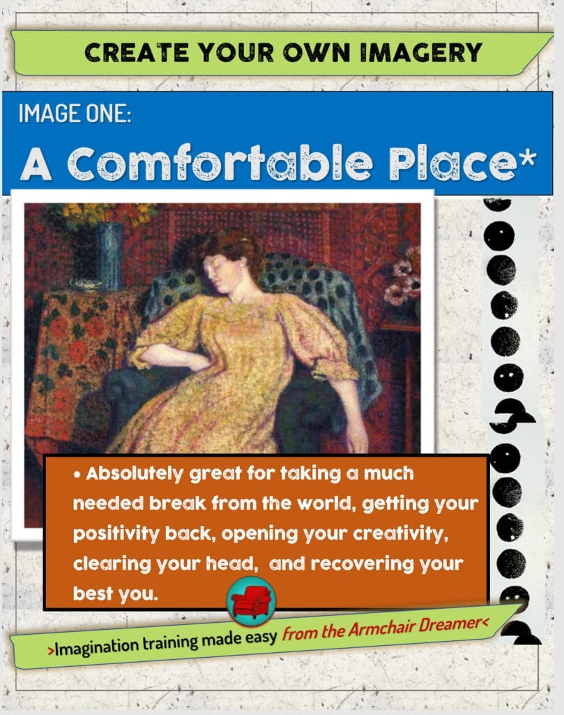 Guidebook: Build A Comfortable Place Imagery Set [Visualize:Guidebook][Imagine:Guidebook]